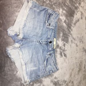 Size 26 Forever 21 used Jean Shorts!